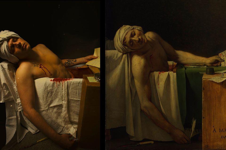 La Mort de Marat /Quarantene