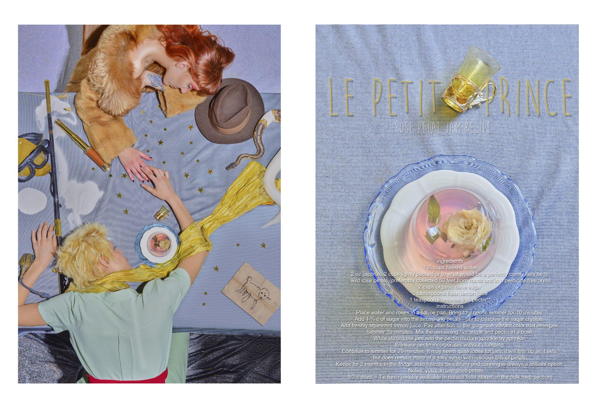 le petit prince and the rose petal jam
