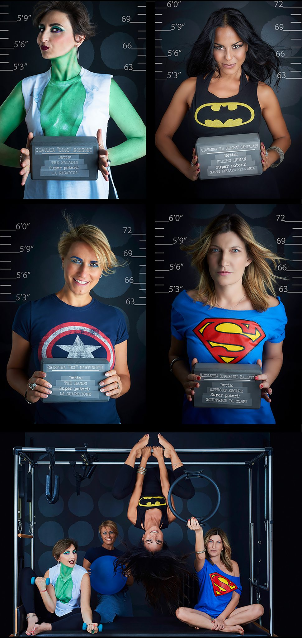 Super hero Pilates