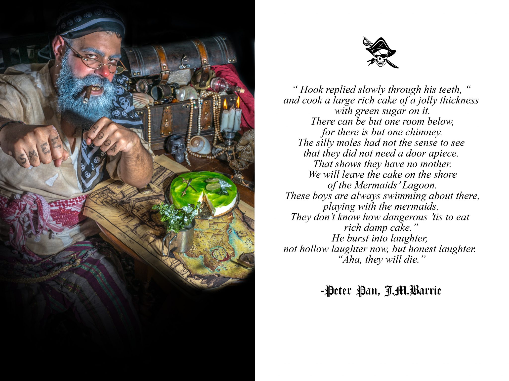 smee and the cake for the lost boys